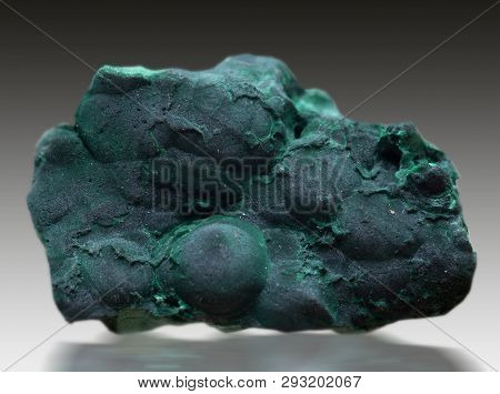 Malachite Mineral Specimen Gem Quartz Rock Geology
