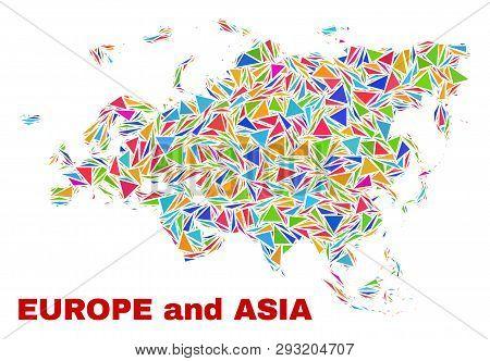 Mosaic Europe Asia Vector & Photo (Free Trial) | Bigstock