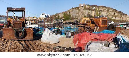Industry Beach Pollution