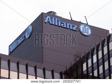 Allianz Insurance Headquarters In Rotterdam