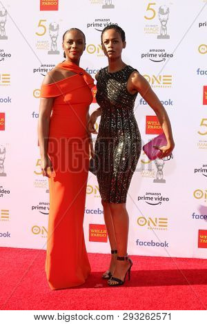 LOS ANGELES - MAR 30:  Tika Sumpter, sster at the 50th NAACP Image Awards - Arrivals at the Dolby Theater on March 30, 2019 in Los Angeles, CA