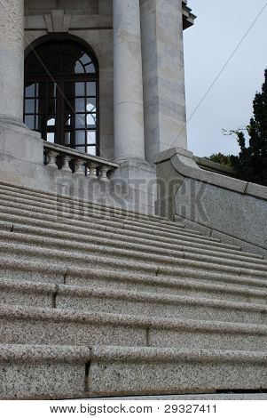 Steps At The Ashton Memorial