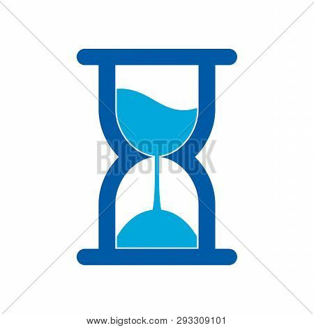 Hourglass Icon Isolated On White Background. Hourglass Icon Simple Sign. Hourglass Icon Trendy And M