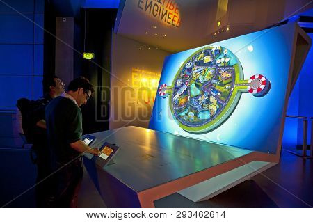 London, England - May 31, 2015: Science Museum In London
