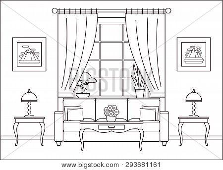 Room Interior Vector Vector Photo Free Trial Bigstock