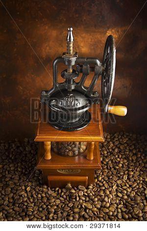 Molinillo de café mecánico