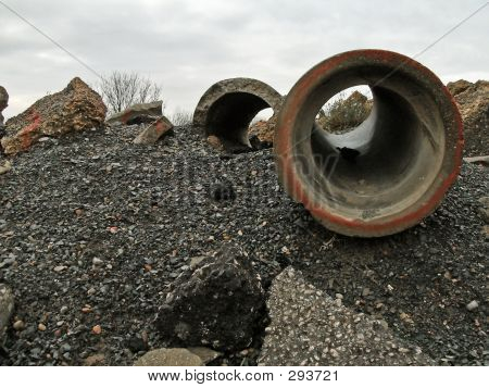 Rubble And Pipes