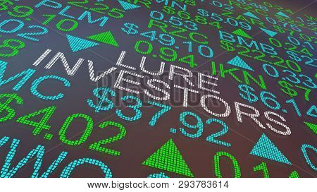 Lure Investors Attract Stock Buyers Public Offering 3d Illustration