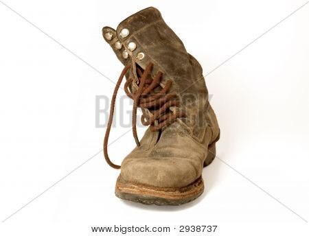 Old Leather Boot
