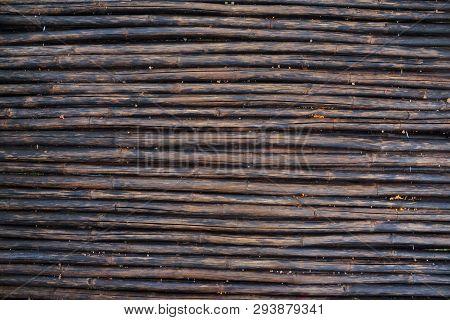 Horizon Wax Brown Bamboo Plank Wood Texture Background
