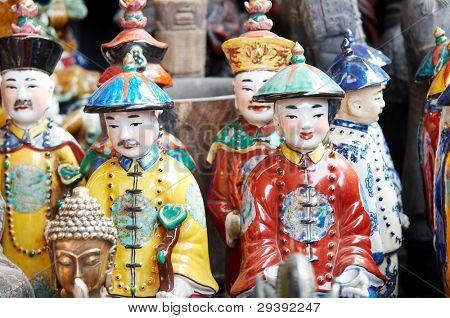 vintage Chinese porcelain figurine
