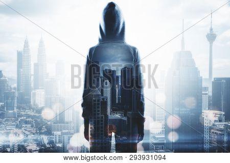 Hacker In City