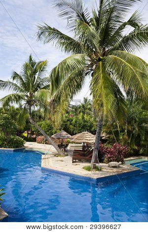 Stock Photo:  tropical resort