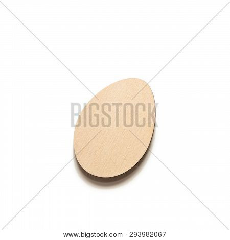 Wooden Egg, Blank For Decoupage