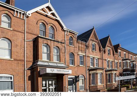 Doncaster, Yorkshire, England - October 7, 2020. Taylor Bracewell Solicitors Exterior Building Facad