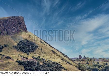 Scottish Cliff Landscape