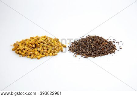 A Comparison Between A Pelletized Corn Gluten Meal Vs A Granulated Corn Gluten Meal (with Added Comp