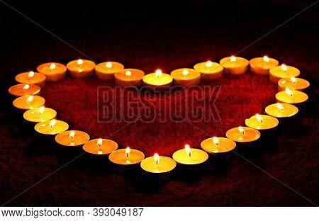Diya Lamps Lit During Diwali Celebration. Colorful Diya Lamps Lit During Diwali Celebration. Beautif