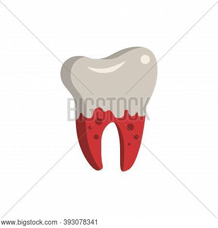 Bleeding Gums Icon. Simple Element From Dentistry Collection. Creative Bleeding Gums Icon For Web De