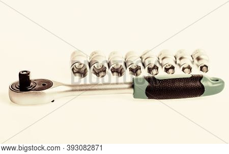 Home Improvement Tools Concept. Tools For Repair And Construction. Main Advantage Of Heads Used To U