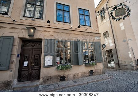 Historic restaurant for Nobel diners