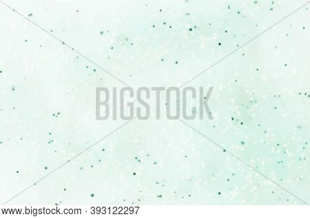 Scrub Or Lotion Smear Isolated On White. Top View. Skin Care Concept. - Image