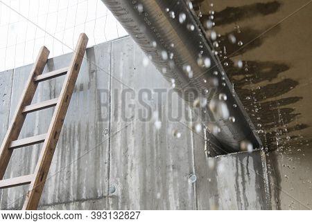 Raindrops On A Rainy Day