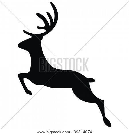 Vector - Running Deer