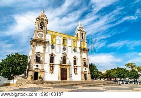 The Igreja Do Carmo, A Church In Faro - Algarve, Portugal