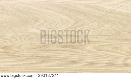 Natural Varnished Wood Texture Background. Top View Of An Oak Wood Veneer . Background Of Grain Natu