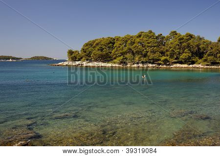Croatian Sea near Rovinji
