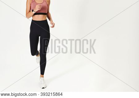 Women's sports wear mockup active wear apparel