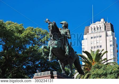 Buenos Aires, Argentina - 03 May 2016: The Monument In Buenos Aires, Argentina