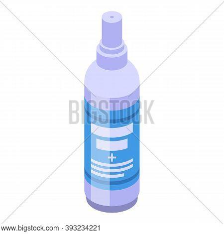 Antiseptic Spray Icon. Isometric Of Antiseptic Spray Vector Icon For Web Design Isolated On White Ba
