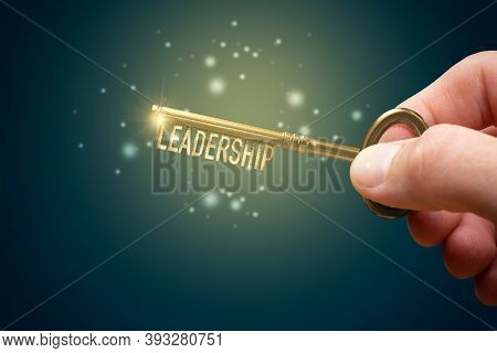 Leadership Skills Improvement And Personal Development Concept. More Practice, Training And Manageri