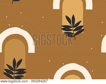 Hand Drawn Vector Abstract Flat Stock Graphic Icon Illustration Line Art Seamless Pattern With Celes