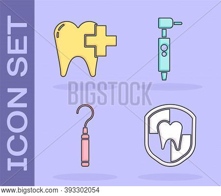 Set Dental Protection, Dental Clinic For Dental Care Tooth, Dental Explorer Scaler For Teeth And Too