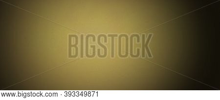 Gold Background Texture. Soft Yellow And Brown Old Vintage Paper Background Design In Elegant Textur