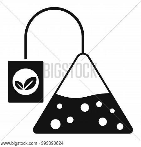 Tea Pyramide Icon. Simple Illustration Of Tea Pyramide Vector Icon For Web Design Isolated On White