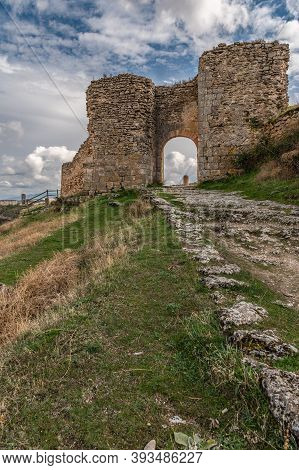 Ancient Ruins Of The Medieval Wall Gate Of Sepúlveda In The Province Of Segovia (spain)