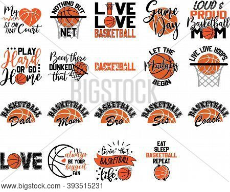Collection Of Basketball Phrases, Slogans Or Quotes