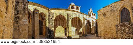 Collegiate Church, Basilica Of Santa Maria De Los Reales Alcazares, Ubeda, Jaen Province, Andalusia,