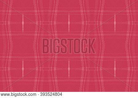 Red Christmas Plaid. Seamless Buffalo Shirt. Irish Tartan Texture. Modern Man Textile. Geometric Chr