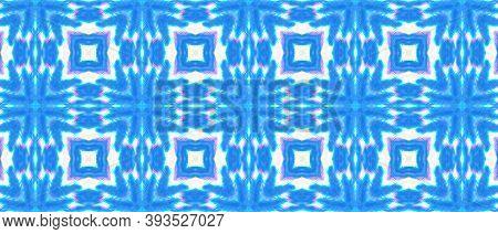 Seamless Watercolor Peru Pattern. Vintage Grunge Native Carpet. Abstract Geometric Indian Ethnic Bac