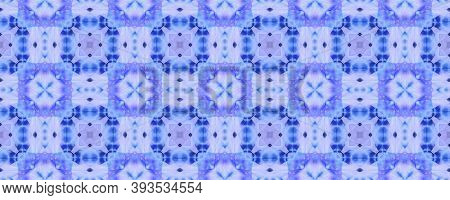 Aztec Rugs. Repeat Tie Dye Rapport. Ikat Japanese Print. Abstract Batik Motif. Indigo Seamless Textu