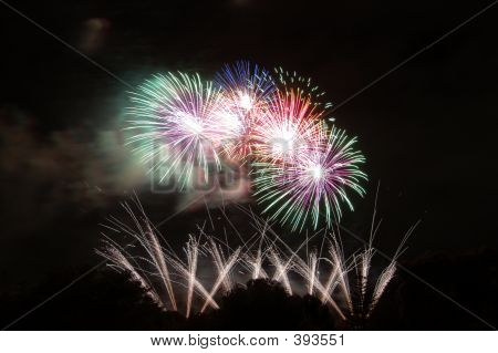 Fireworks Over Bonython