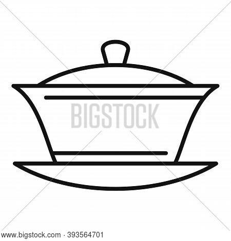 Ceramic Tea Ceremony Icon. Outline Ceramic Tea Ceremony Vector Icon For Web Design Isolated On White