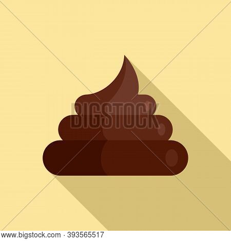 Hoax Shit Icon. Flat Illustration Of Hoax Shit Vector Icon For Web Design