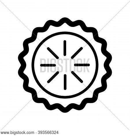 Pie Icon Isolated On White Background From Breakfast Collection. Apple Pie Icon Trendy And Modern Ap