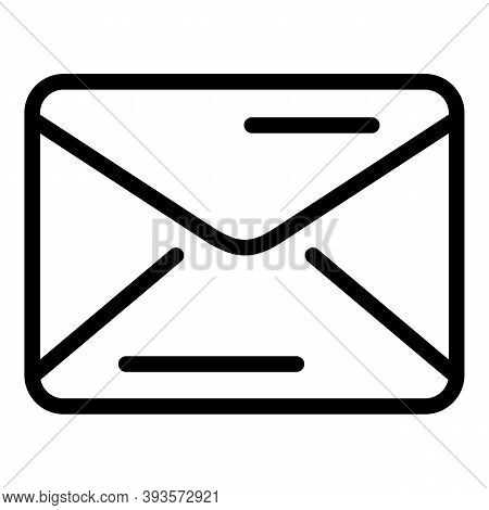 Email Campaign Icon. Outline Email Campaign Vector Icon For Web Design Isolated On White Background